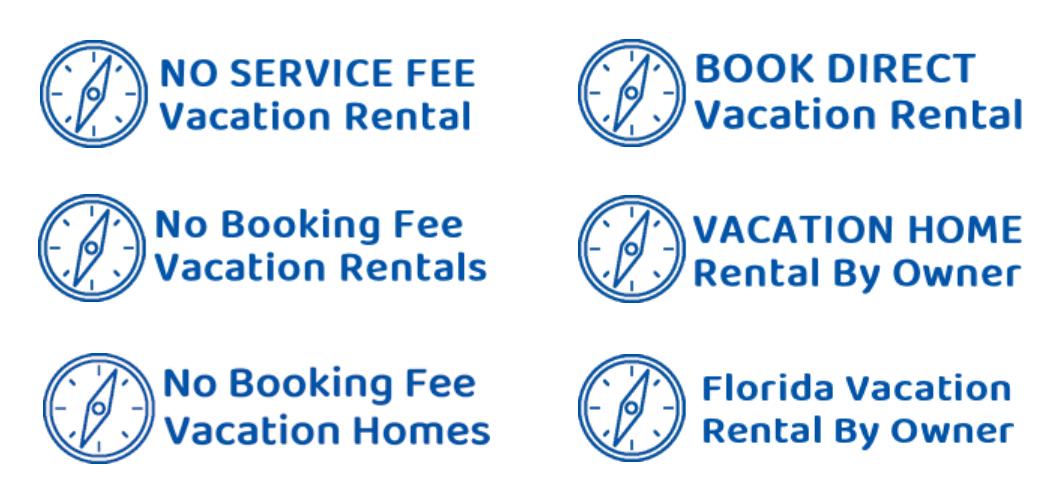 Florida vacation rentals with no booking fees